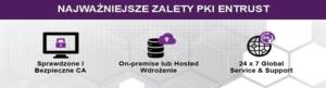 PKI Entrust Zalety