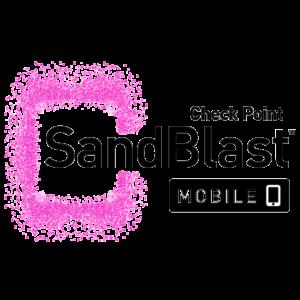 logo sandblast