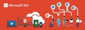 Microsoft 365 baner